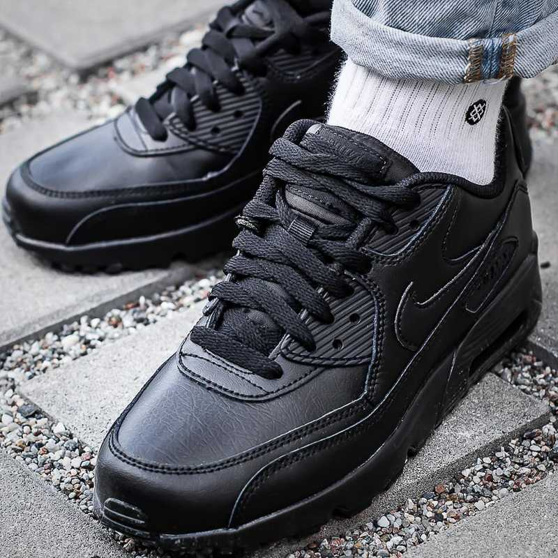 online store 2d772 ef285 Nike Air Max 90 LEATHER (833412-001) Click to zoom ...