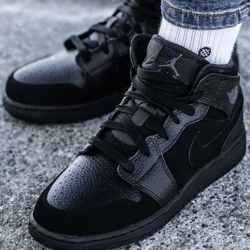 Nike Air Jordan 1 MID GS (554725-064)